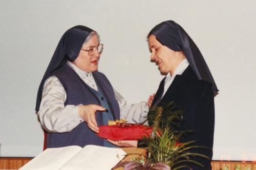 Sr Maria Cevolani e sr Giovannamaria Carrara